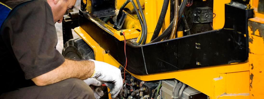 Servicio reparación maquinaria construcción