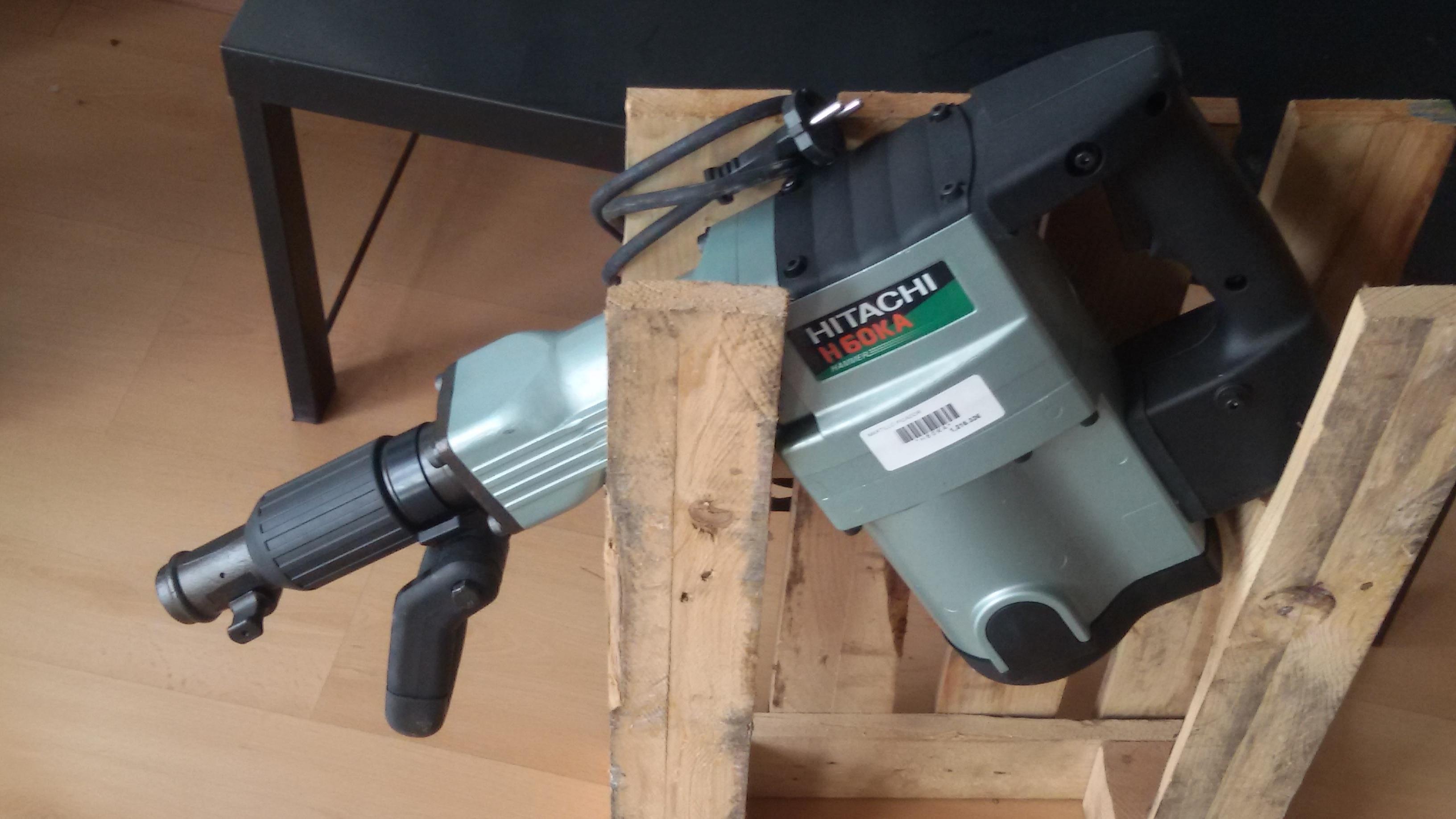 Martillo picador electrico hitachi h60ka maquinsan - Martillo cincelador electrico ...
