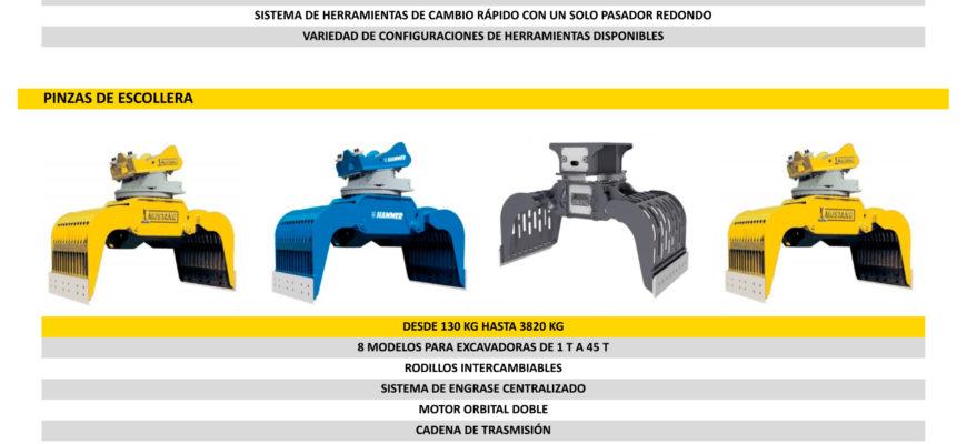 Catálogo HAMMER Demolición