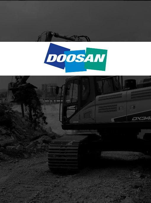 maquinaria y repuestos Doosan